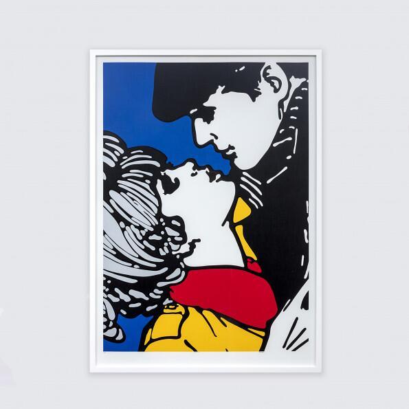 Claudio Tozzi, beijo