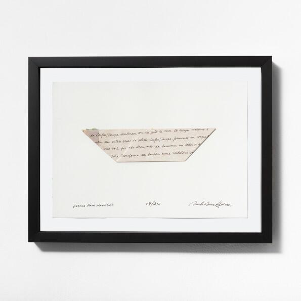 Paulo Bruscky, Poema para Navegar