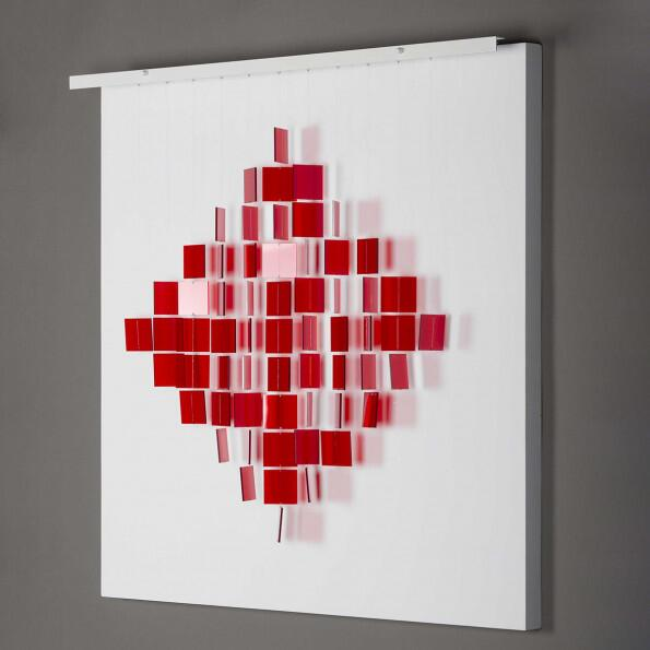 Julio Le Parc, Mobile Losange Rouge