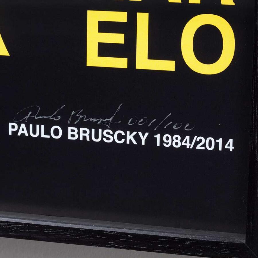 Paulo Bruscky, Cartaz